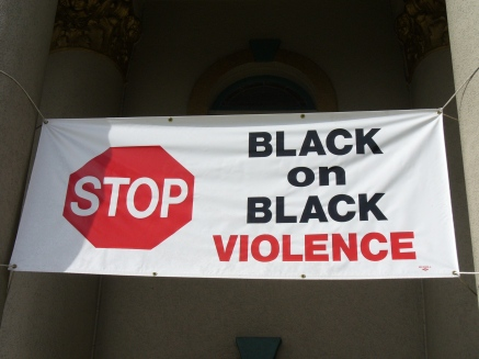 Stop Black on Black Crime